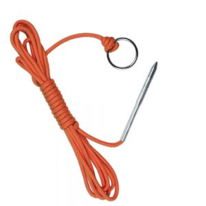 Paracord Fishing Stringer Fish Holder with Metal Threading Needle