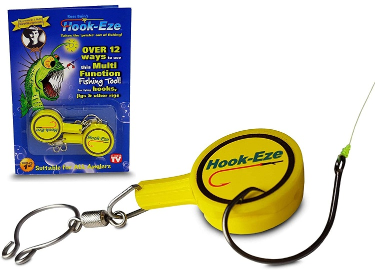 Hook Eze Fishing Gear Knot Tying Tool for Fishing Hooks