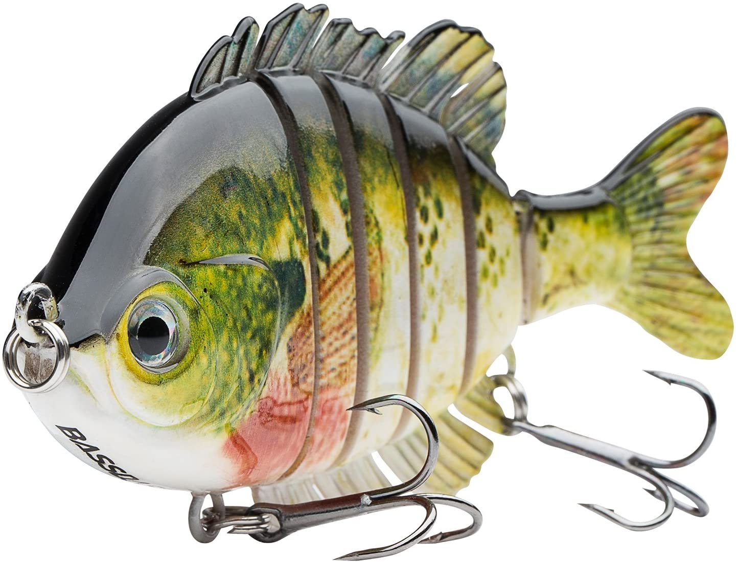 Bassdash SwimPanfish Multi Jointed Panfish Bluegill Swimbaits Hard Topwater Bass Lures